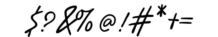 Benorante Wild Regular Font OTHER CHARS