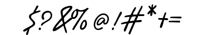 BenoranteWild-Regular Font OTHER CHARS