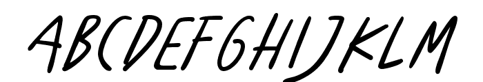 BenoranteWild-Regular Font UPPERCASE
