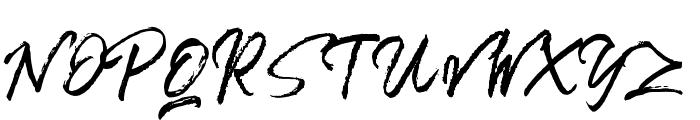 Bentoll Font UPPERCASE