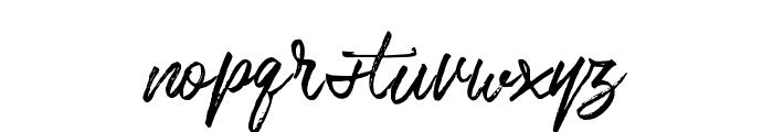 Bentoll Font LOWERCASE