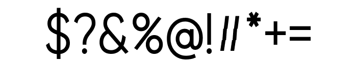 Beone Semi-Bold Font OTHER CHARS