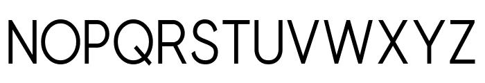 Beone Semi-Bold Font LOWERCASE