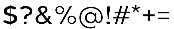 Berlin Light Font OTHER CHARS