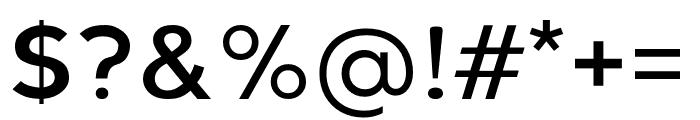 Berlin Regular Font OTHER CHARS
