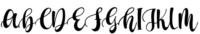 Berlinda Outline Font UPPERCASE