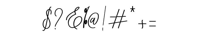 Bernadine Script Font OTHER CHARS