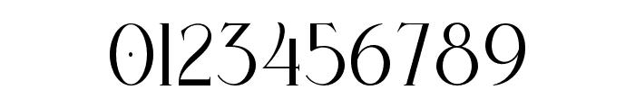 Bernitha Regular Font OTHER CHARS