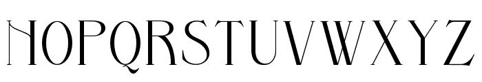 Bernitha Regular Font LOWERCASE
