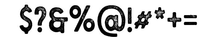 Berringer Aged Font OTHER CHARS