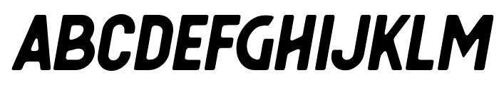 Berringer Oblique Font LOWERCASE