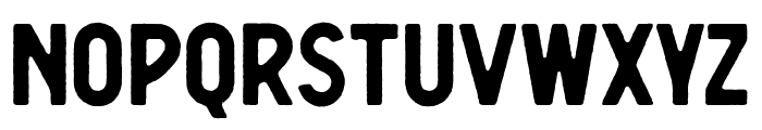 Berringer Rough Font LOWERCASE