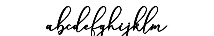 BerrylinaScript Font LOWERCASE