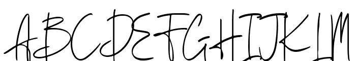 Berthusen Font UPPERCASE