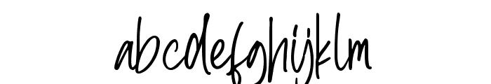 Berthusen Font LOWERCASE