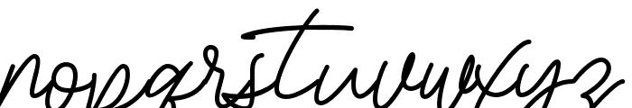 BessitaHandwriting Font LOWERCASE