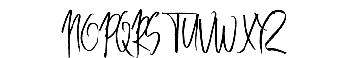 Best Lottre Font UPPERCASE