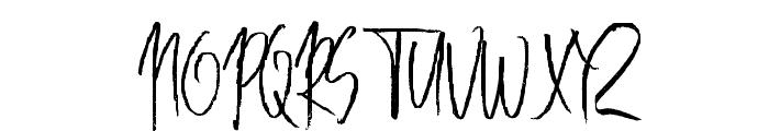 BestLottre Font UPPERCASE