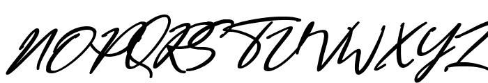 Bestowens Family Bold Italic Font UPPERCASE