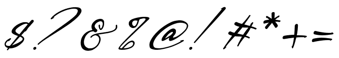 Bestowens Family Light Italic Font OTHER CHARS