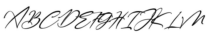 Bestowens Family Light Italic Font UPPERCASE
