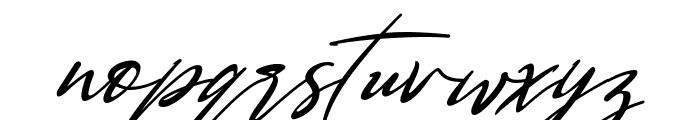 Bestowens Family Light Italic Font LOWERCASE
