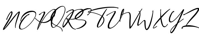 Bestowens Family Light Font UPPERCASE