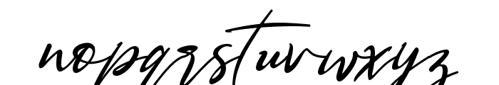 Bestowens Family Light Font LOWERCASE