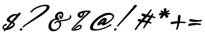 Bestowens Family Semi Bold Italic Font OTHER CHARS