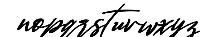 Bestowens Family Semi Bold Italic Font LOWERCASE
