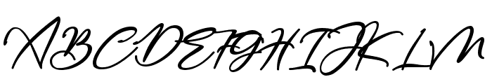 Bestowens Family Semi Bold Font UPPERCASE
