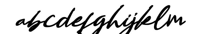Bestowens Family Semi Bold Font LOWERCASE