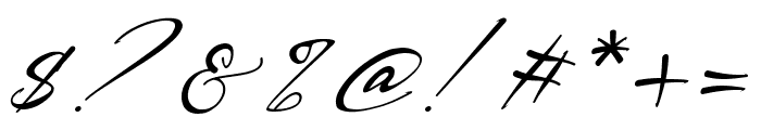 Bestowens Family Thin Italic Font OTHER CHARS