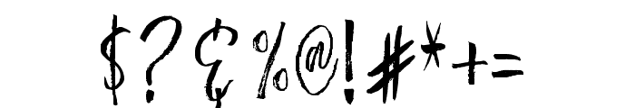 BestromelloScript Font OTHER CHARS