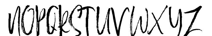 BestromelloScript Font UPPERCASE