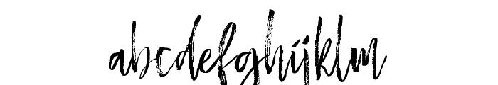 BestromelloScript Font LOWERCASE