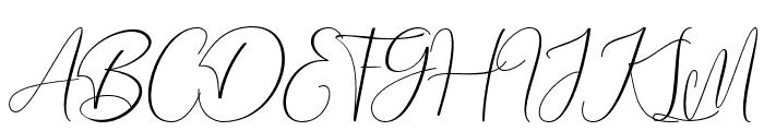 Bethania Font UPPERCASE