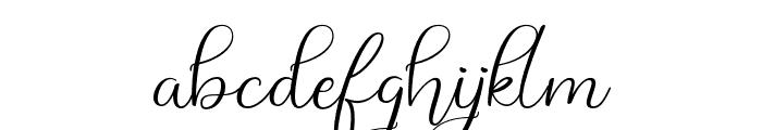Bethania Font LOWERCASE
