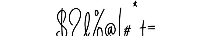 Better Caller Font OTHER CHARS