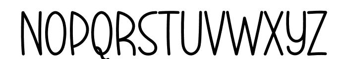 Better Ground Font UPPERCASE