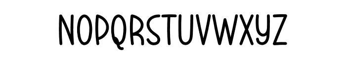 Better Ground Font LOWERCASE