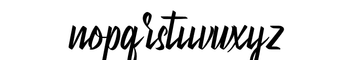 Betterboxes Font LOWERCASE