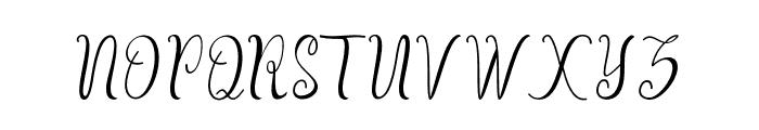 Beulaga Font UPPERCASE