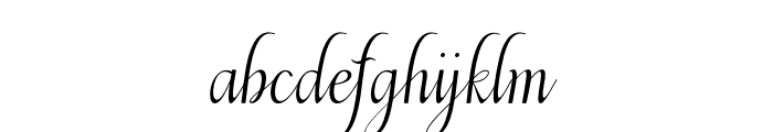 Beulaga Font LOWERCASE