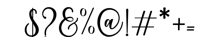 BeverlyScript Font OTHER CHARS