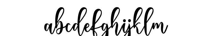 BeverlyScript Font LOWERCASE