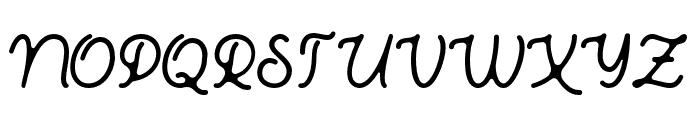 Bhamious Font UPPERCASE