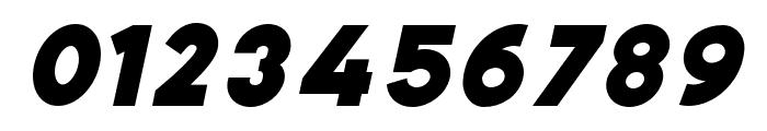 Bianco ExtraBold Italic Font OTHER CHARS