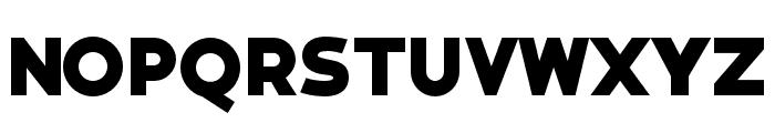Bianco ExtraBold Font LOWERCASE