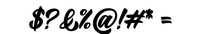 BigBlueBold-Bold Font OTHER CHARS